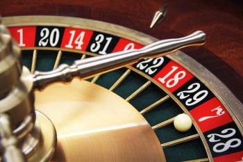 Ein Bild von einem Roulette Kessel